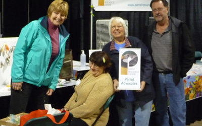 APRIL 23 AND 24 PARROT RESOURCE CENTRE IS AT PET EXPO