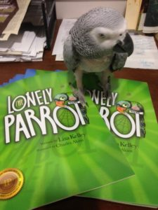 Proud of our affiliation with The Lonely Parrot and Lisa Kelley